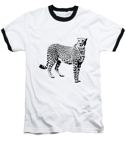 Cheetah Cutout Baseball T-Shirt