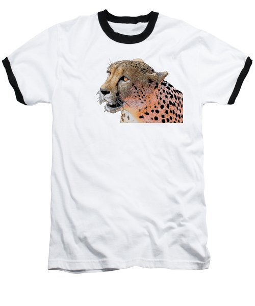 Cheetah Golden Eye Baseball T-Shirt