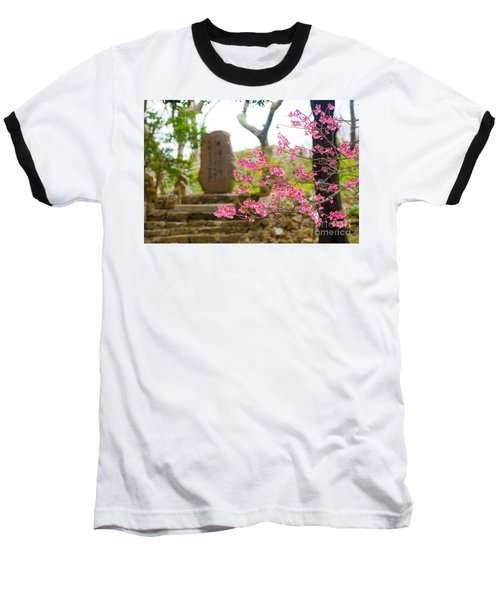 Cherry Blossoms 11 Baseball T-Shirt