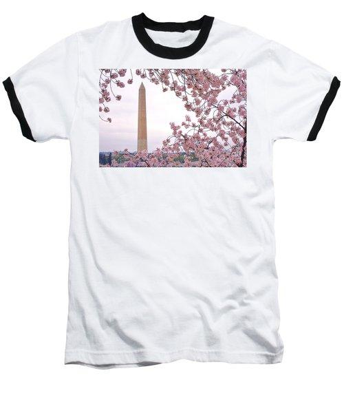 Cherry Washington Baseball T-Shirt