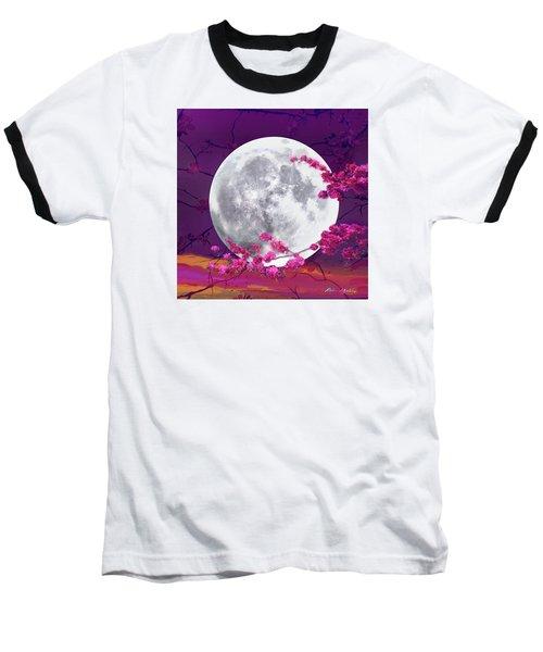 Cherry Moon  Baseball T-Shirt