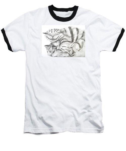Chershire Cat  Baseball T-Shirt