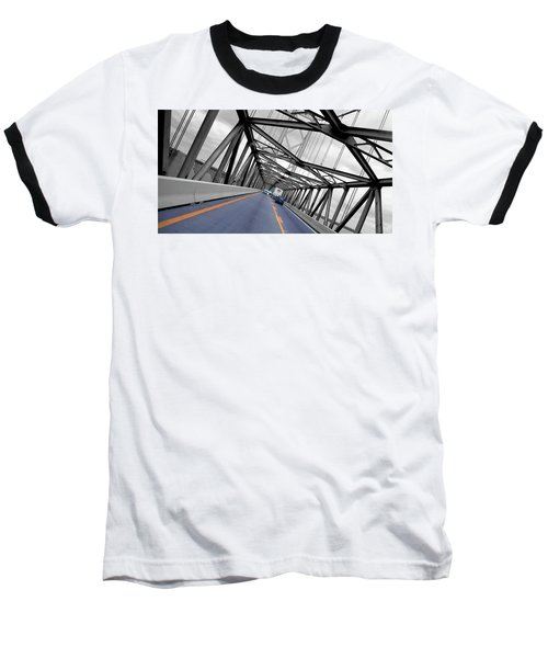 Chesapeake Bay Bridge Baseball T-Shirt
