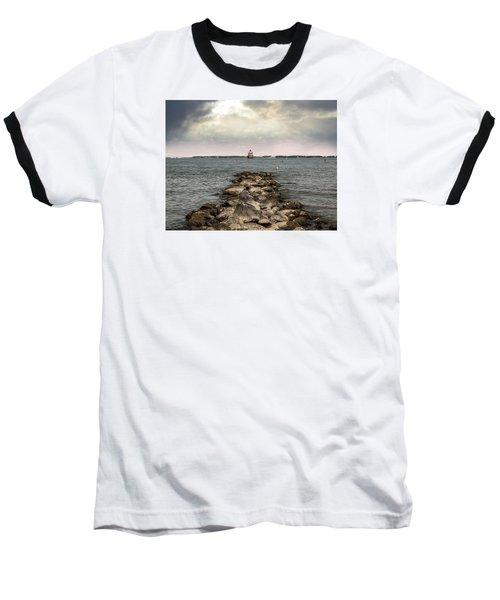 Chesapeake Bay Lighthouse Baseball T-Shirt