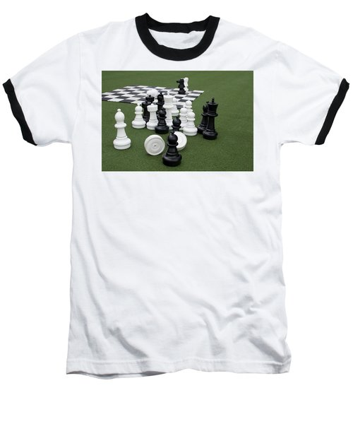 Chess Pieces Baseball T-Shirt