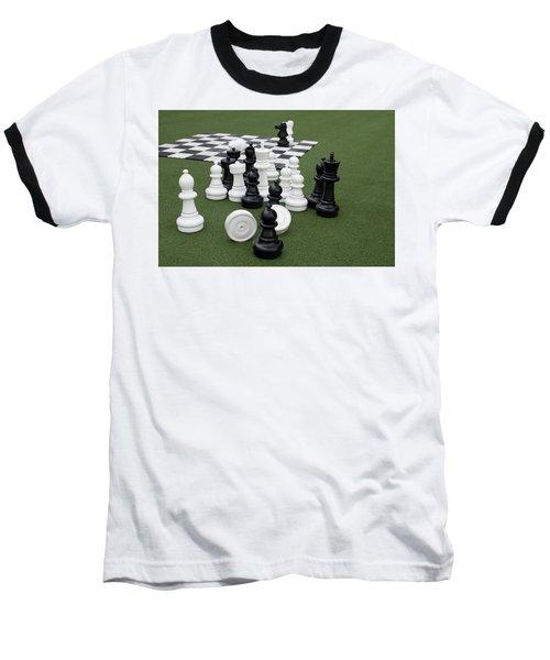 Chess Pieces Baseball T-Shirt
