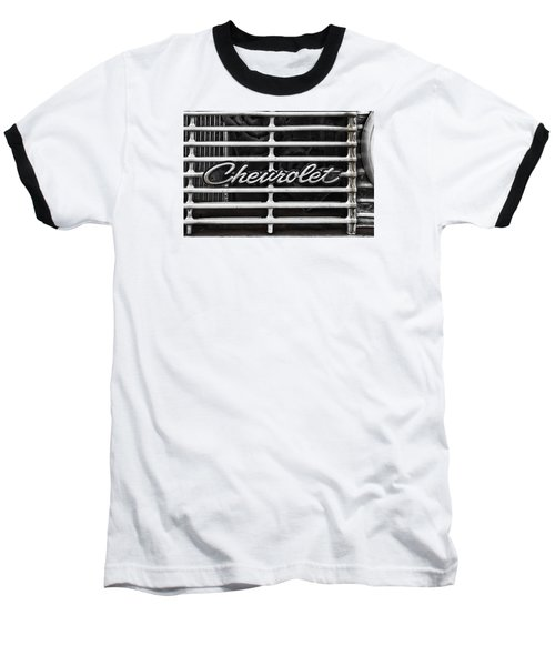 Chevy Grill Baseball T-Shirt