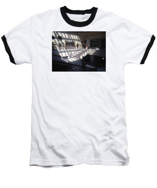 Chicago Art Institude Baseball T-Shirt by Paul Meinerth