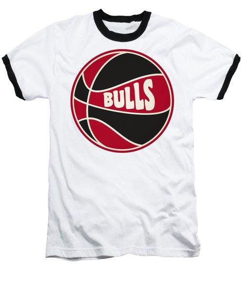 Chicago Bulls Retro Shirt Baseball T-Shirt by Joe Hamilton