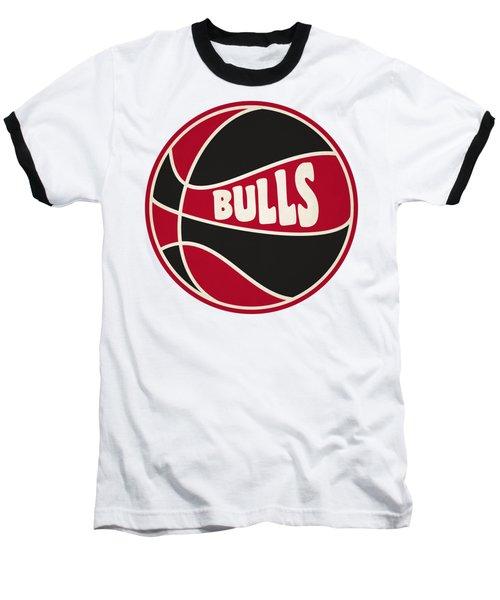 Chicago Bulls Retro Shirt Baseball T-Shirt