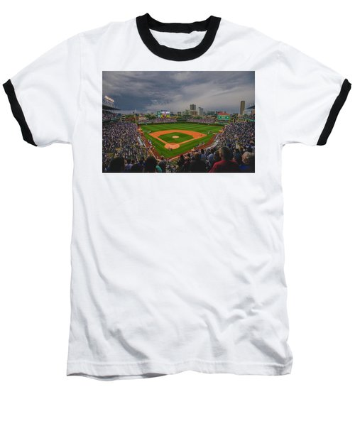 Chicago Cubs Wrigley Field 4 8213 Baseball T-Shirt
