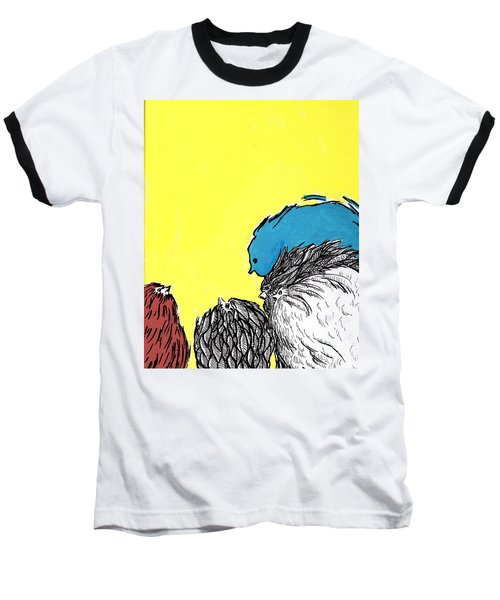 Chickens One Baseball T-Shirt