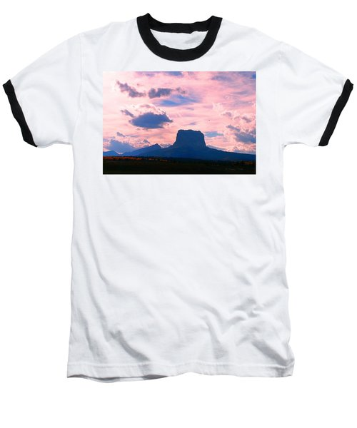 Chief Mountain, Pastel Baseball T-Shirt