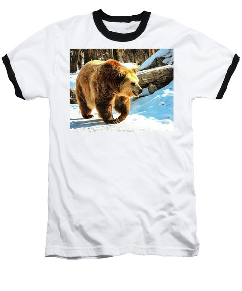 Chief Walking Bear Baseball T-Shirt
