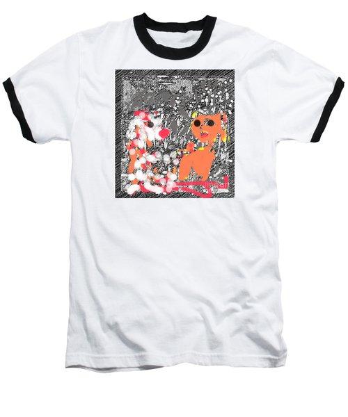Children Art Friends Baseball T-Shirt