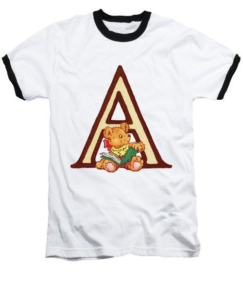 Children's Letter A Baseball T-Shirt