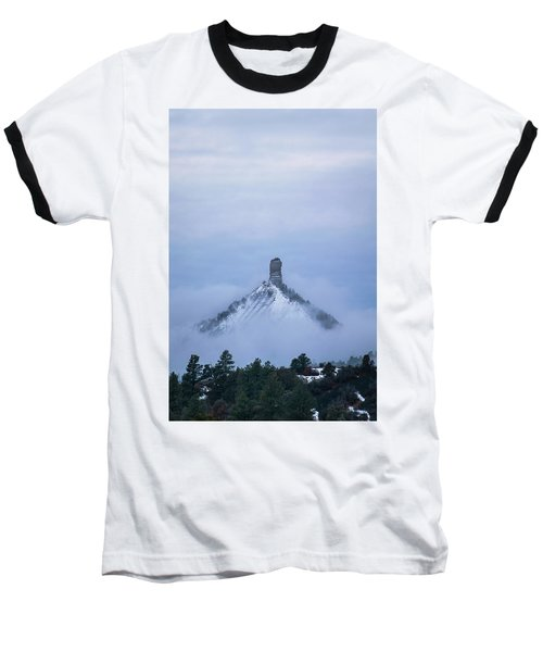 Chimney Rock Rising Baseball T-Shirt by Jason Coward