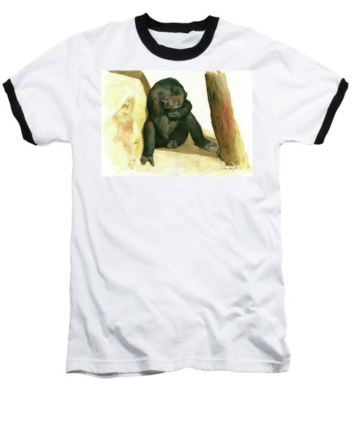 Chimp Baseball T-Shirt