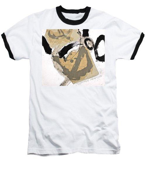 Chine Colle Baseball T-Shirt