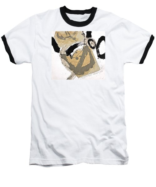 Chine Colle Baseball T-Shirt