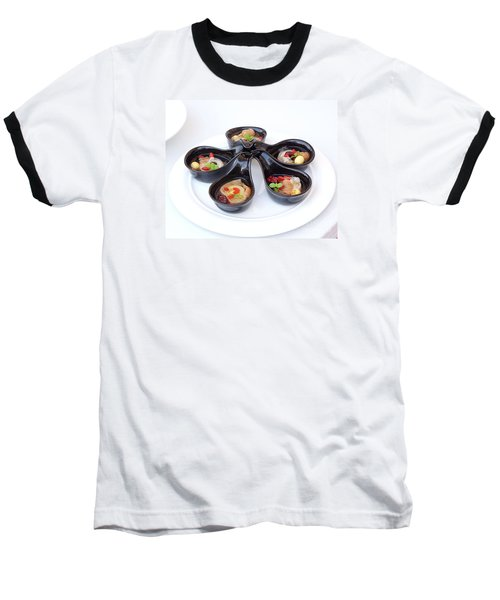 Chinese Herbal Soup With Red Dates And Wolfberries Baseball T-Shirt by Yali Shi
