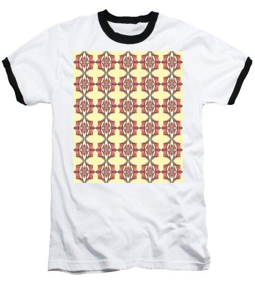 Chock A Block Yellow Baseball T-Shirt