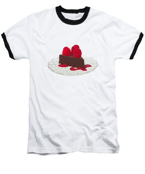 Chocolate Cake Baseball T-Shirt
