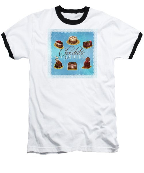 Chocolate Candies Baseball T-Shirt