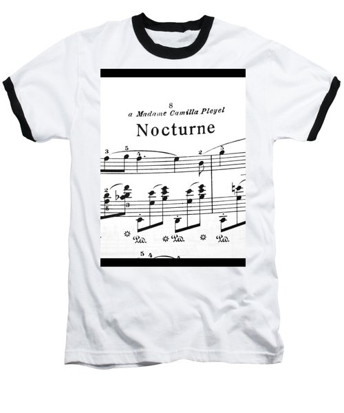 Chopin Nocturne Part 2 Baseball T-Shirt