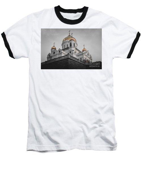 Christ The Savior Cathedral Baseball T-Shirt