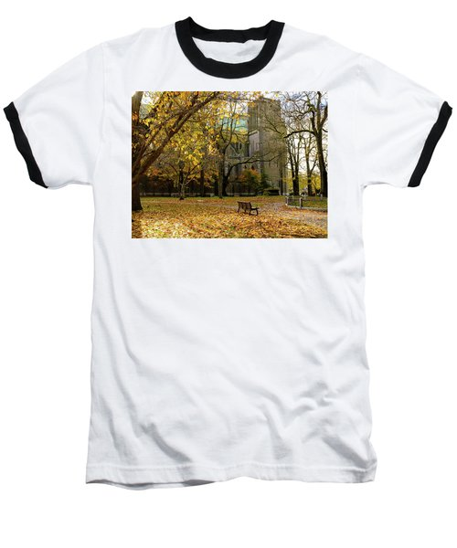 Christchurch Cathedral Baseball T-Shirt by Keith Boone