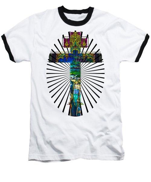 Christian Cross No 1 Baseball T-Shirt