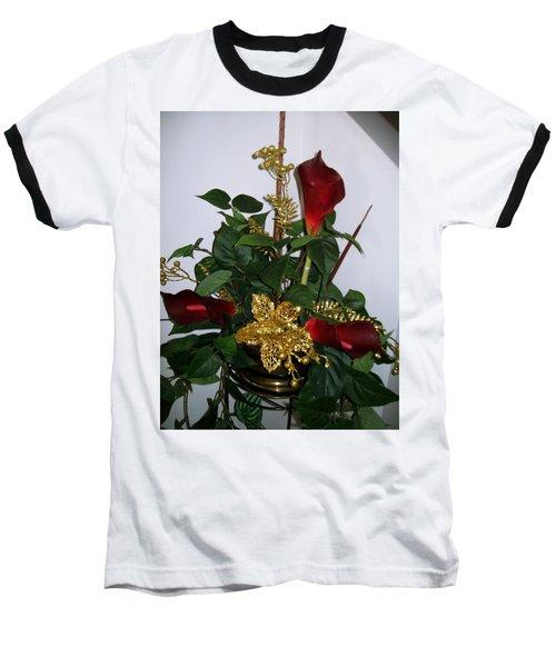 Christmas Arrangemant Baseball T-Shirt