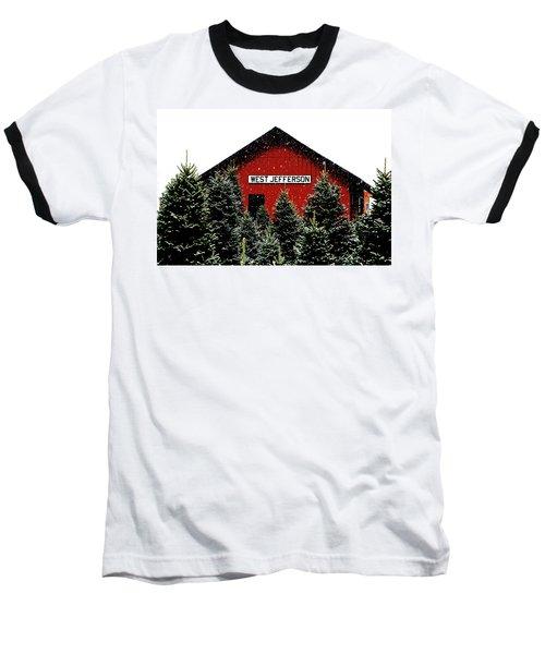 Christmas Town Baseball T-Shirt