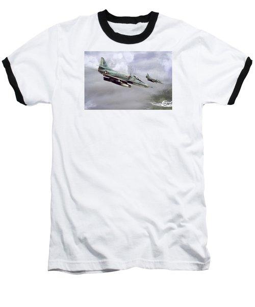 Chu Lai Skyhawks Baseball T-Shirt by Peter Chilelli