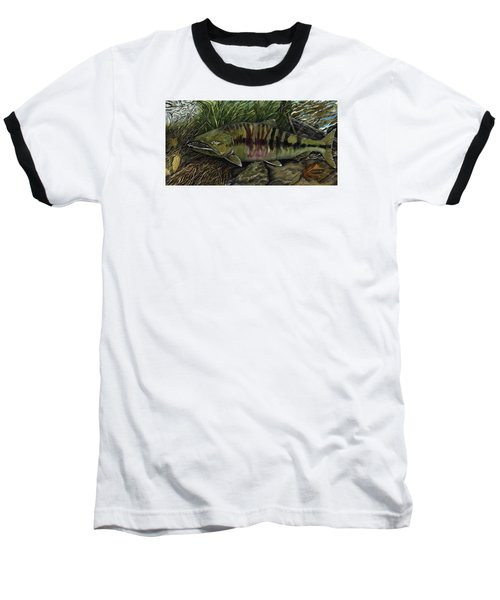 Chum Salmon Baseball T-Shirt