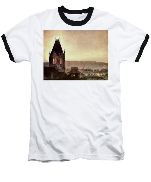 Church Steeple 4 For Cup Baseball T-Shirt