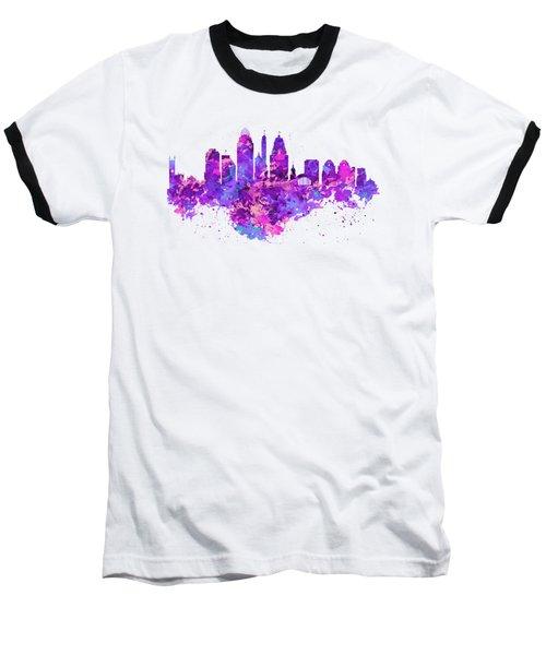 Cincinnati Skyline Baseball T-Shirt