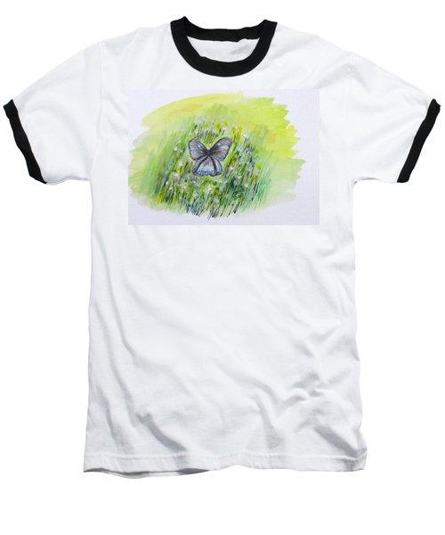 Cindy's Butterfly Baseball T-Shirt
