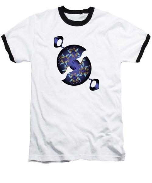 Circularium No 2634 Baseball T-Shirt by Alan Bennington