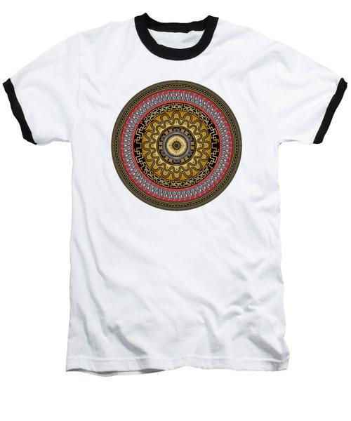 Circularium No. 2644 Baseball T-Shirt by Alan Bennington
