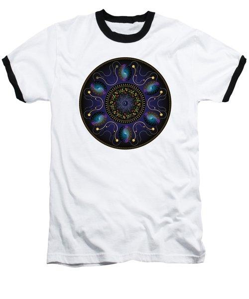 Circularium No 2707 Baseball T-Shirt by Alan Bennington