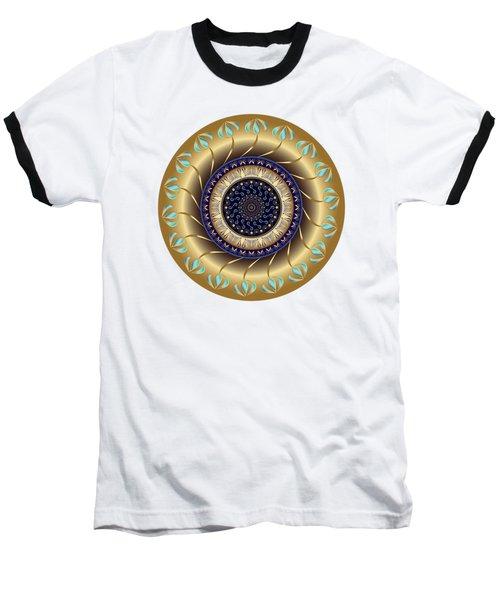 Circularium No 2708 Baseball T-Shirt by Alan Bennington