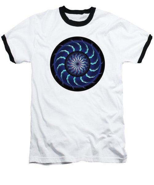 Circularium No 2711 Baseball T-Shirt by Alan Bennington
