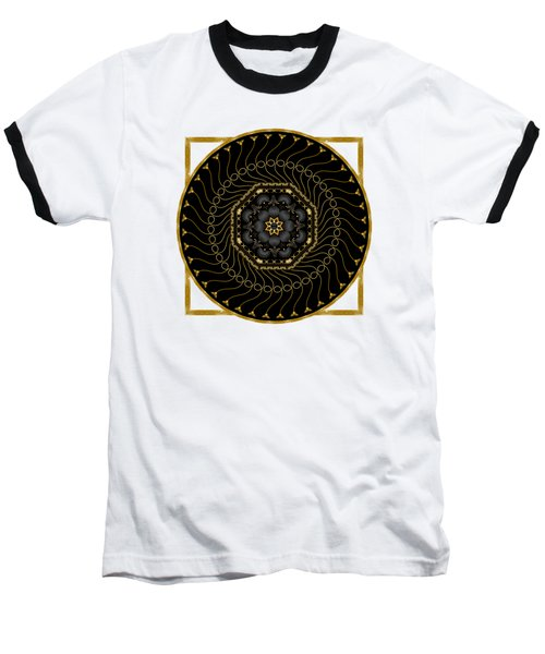 Circularium No 2712 Baseball T-Shirt by Alan Bennington