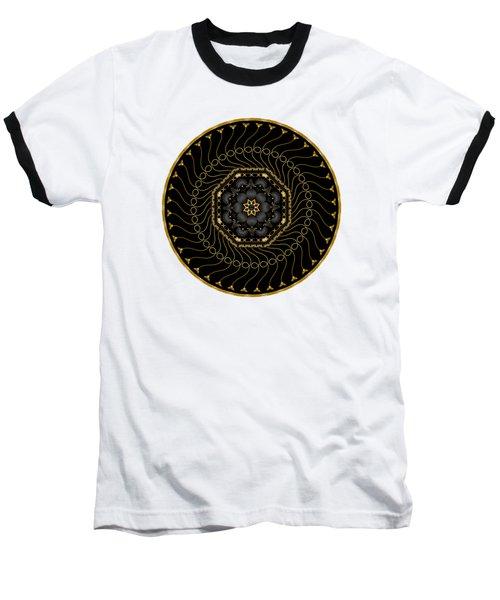 Circularium No 2713 Baseball T-Shirt by Alan Bennington