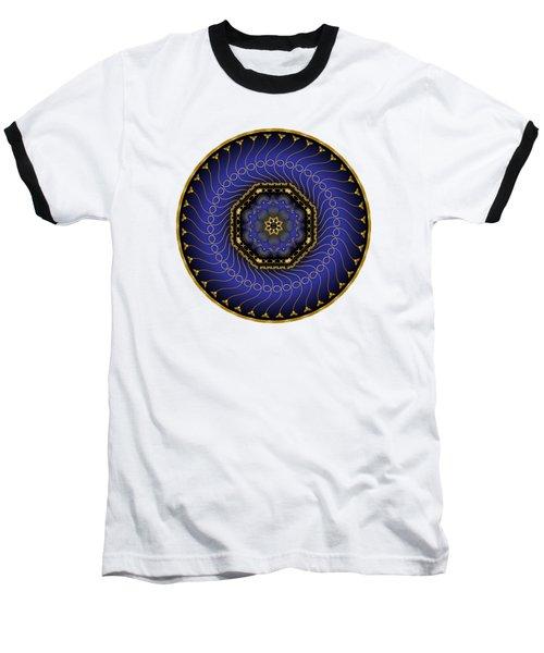 Circularium No 2714 Baseball T-Shirt by Alan Bennington