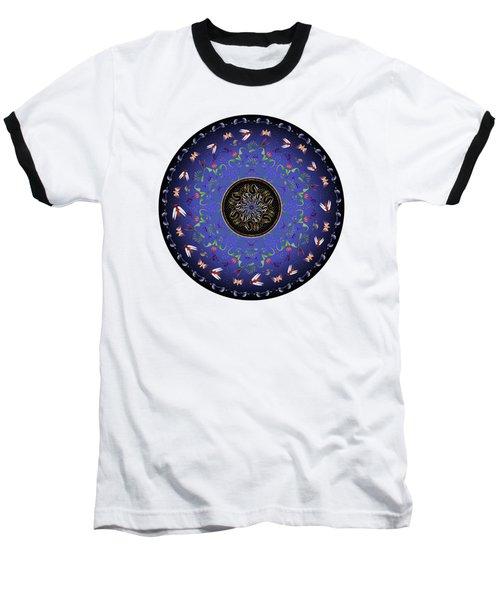 Circularium No 2717 Baseball T-Shirt by Alan Bennington