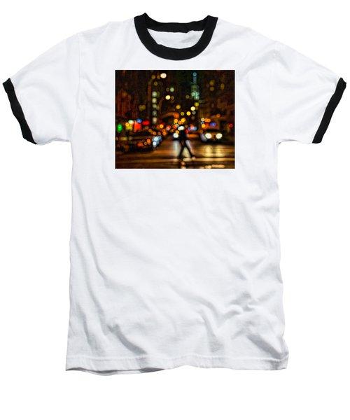 City Nights, City Lights Baseball T-Shirt