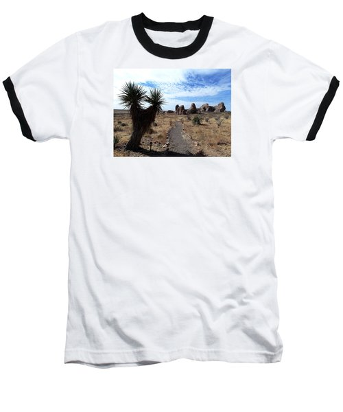 City Of Rocks - New Mexico Baseball T-Shirt